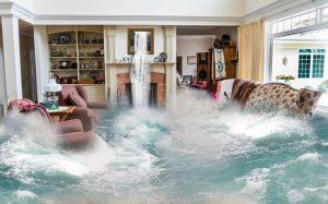 room flooding