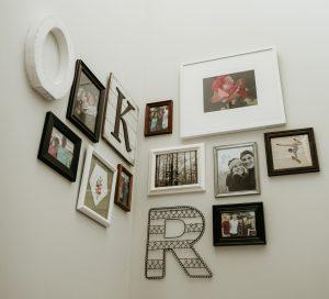 wall art of photos