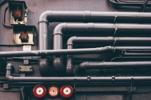 pipes in a house