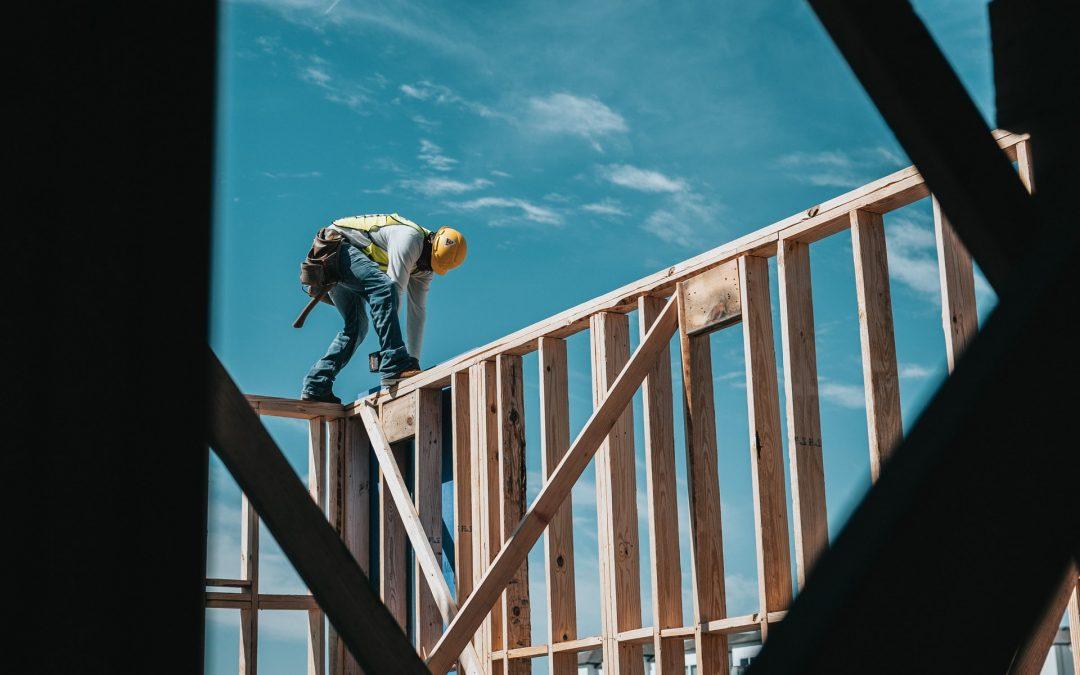 contractor building wall
