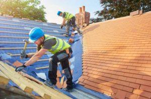 roofer on a roof