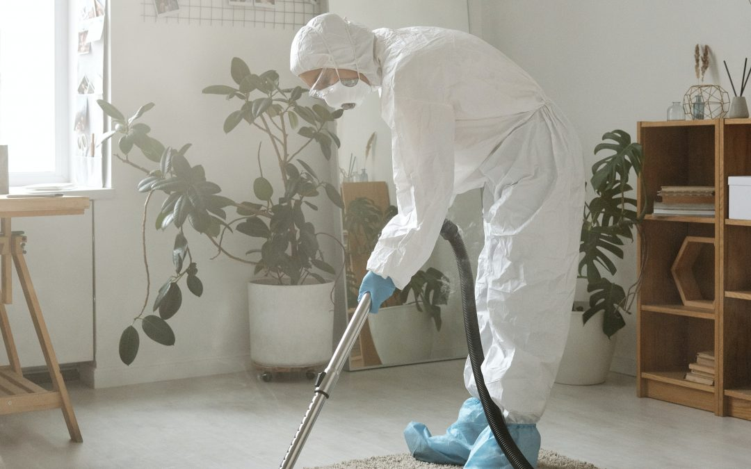 disinfecting a home