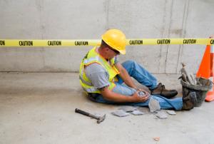 contractor gets hurt