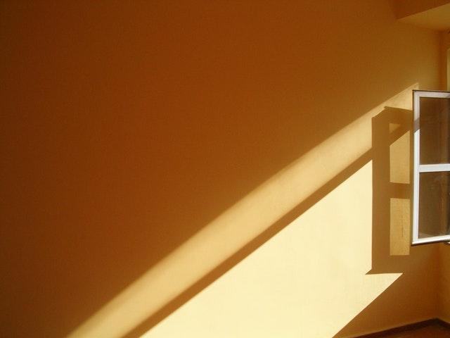 sunlight in a room