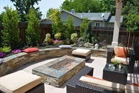 backyard finished