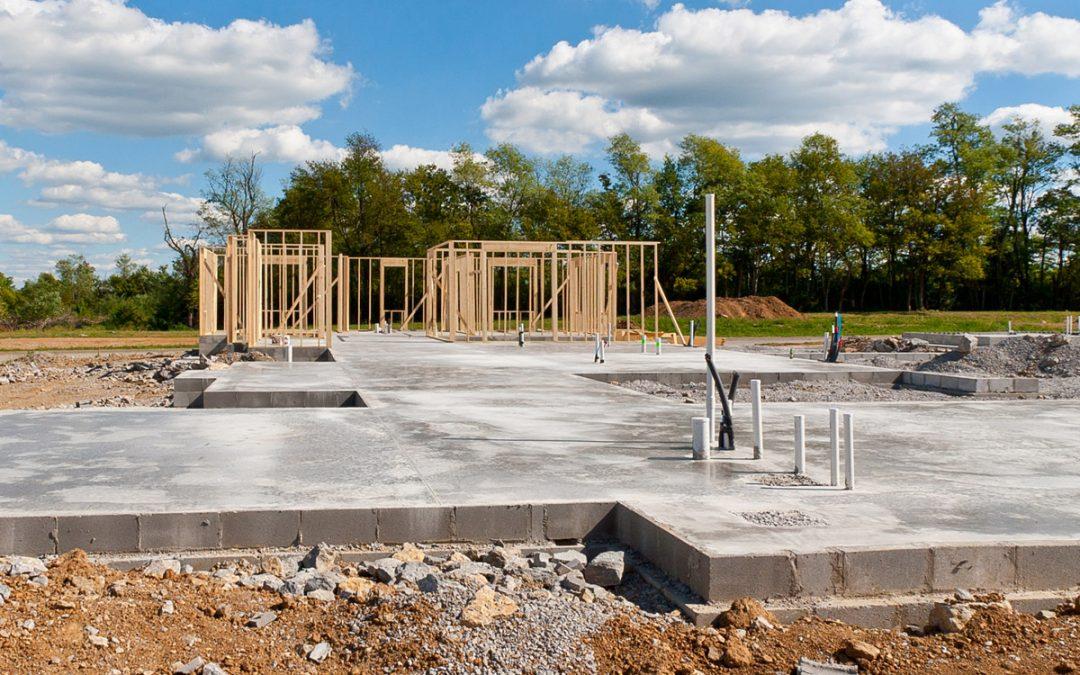 concrete foundation for house
