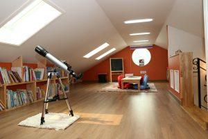 inside a home