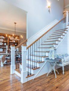 stair banister design